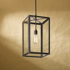 Ilford pendant weathered brass