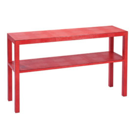 Anna Console With Shelf