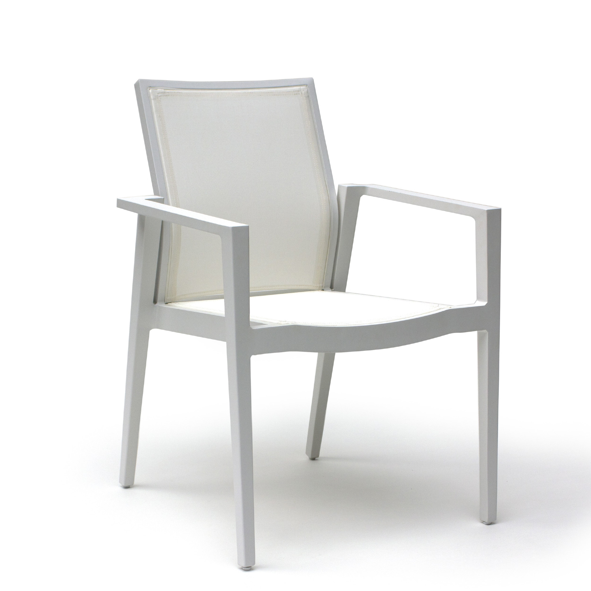 Stackable dining chair lisa astele for Stackable dining room chairs