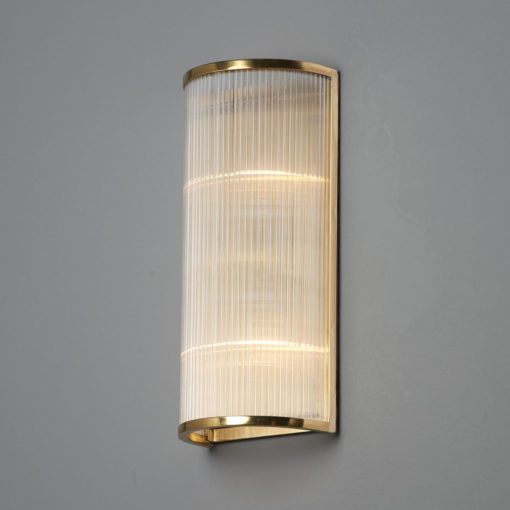 Art deco wall light astele for Art deco exterior light fixtures